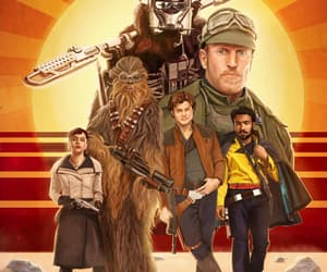 chewie, tobias beckett, and han solo image