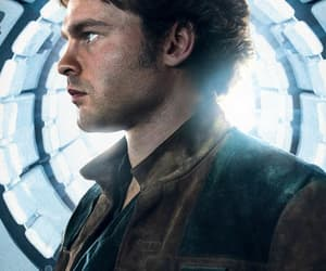 han solo, solo, and star wars image