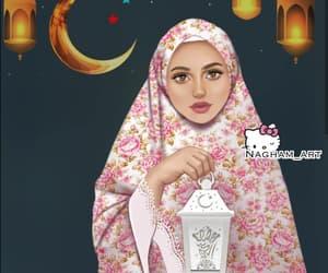 art, drawing, and Ramadan image