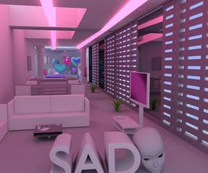 pink, aesthetic, and alien image