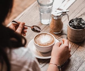 chill, coffee, and coffe shop image