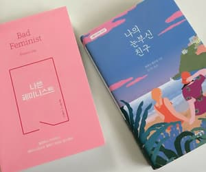 books, korean, and pastel image