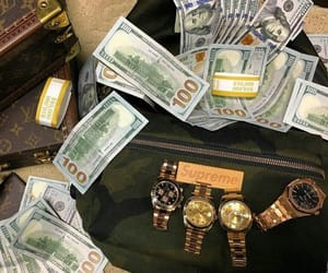 gold, luxury, and money image
