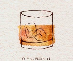 aesthetic, art, and bourbon image