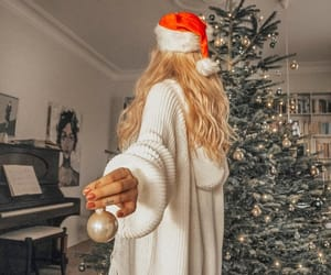 blonde, december, and winter image