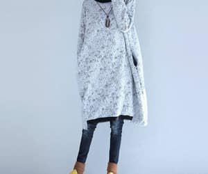etsy, cotton dress, and longsleeves image