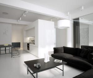 aesthetic, apartment, and black image