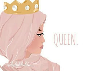 Queen and hijab image