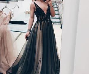 dress, selfie, and fashion image