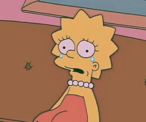lisa, lisa simpsons, and sad image