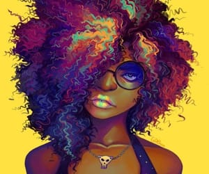 African, girl, and pastel image