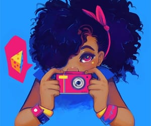African, camera, and girl image