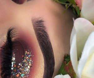 beauty, eyeshadow, and tumblr image