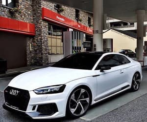 audi, awesome, and white image