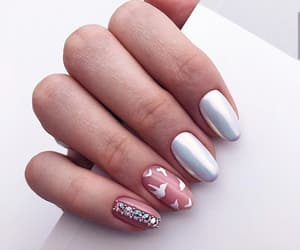 nails, manicure, and fashion image