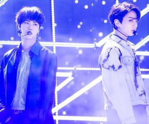 jungkook, jin, and tumblr image