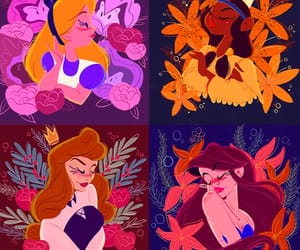 alice, alice in wonderland, and ariel image