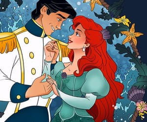 ariel, sweet, and the little mermaid image