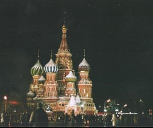 lights, night, and russia image