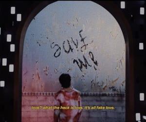 bts, fake love, and jin image