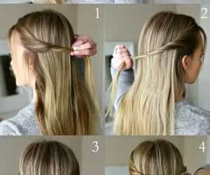 hairstyles and ponytail image