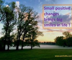 positive thoughts, health tips, and happy life image