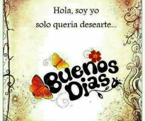 amistad, buenos días, and frases español image