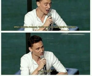 tom hiddleston, Avengers, and Marvel image