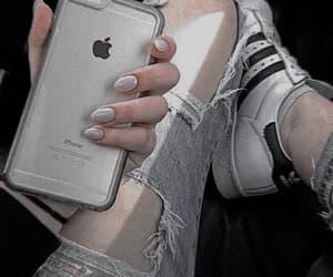 iphone, adidas, and nails image
