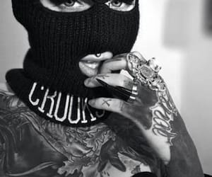 tattoo and gangsta image