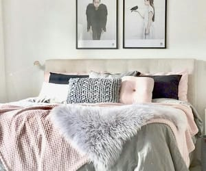 bed, bedroom, and design image