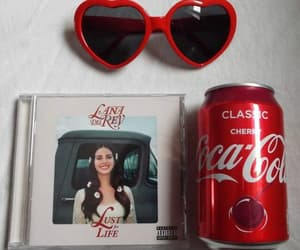 lana del rey, red, and lust for life image