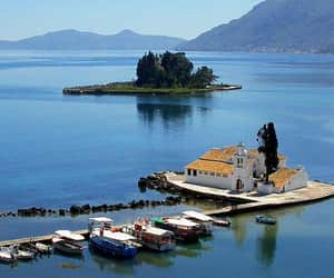 corfu, great view, and Greece image