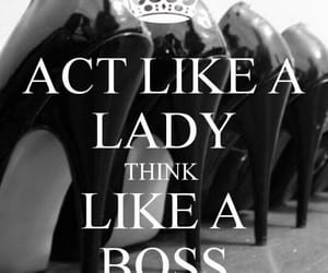 act, boss, and think image