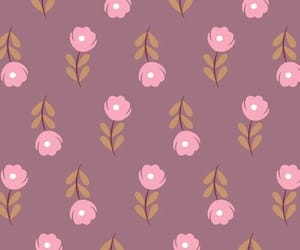 florals, wallpaper, and flowers image