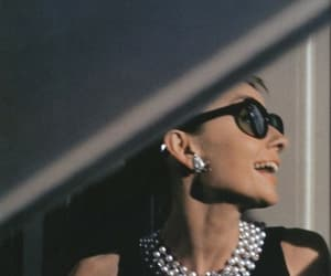 audrey hepburn and Breakfast at Tiffany's image