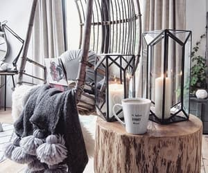 home, decoration, and candle image