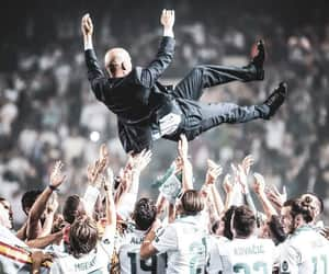 coach, zinedine zidane, and zizou image