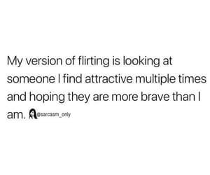 flirting and sarcasm image