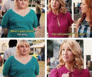 funny, pitch perfect, and fat amy image