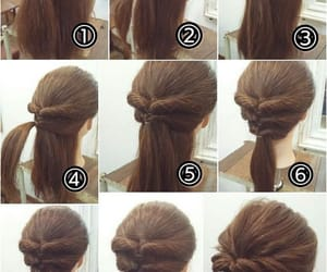 braid, hairstyles, and updo image