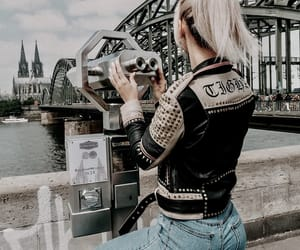 beautiful, bridge, and denim image