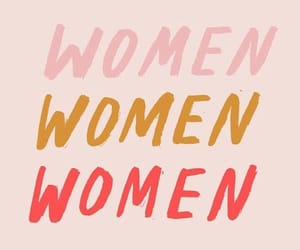 woman, girl power, and pink image