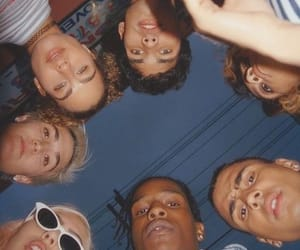 asap rocky and friends image