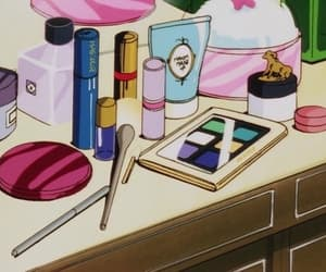 anime, makeup, and aesthetic image