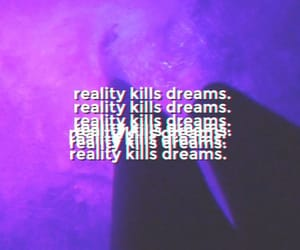 aesthetic, purple, and reality image