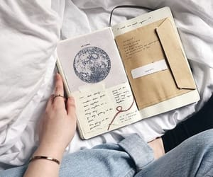 book, journal, and writing image