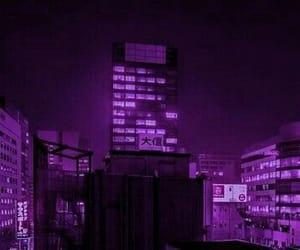 city, night, and dark image