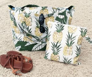 bags, pineapple, and summer bag image