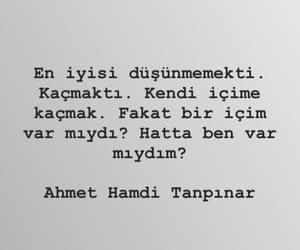 türkçe sözler and ahmet hamdi tanpınar image